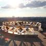 Swissotel Красные Холмы: Площадка на крыше отеля